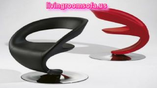 Black And Red Different Leather Chaises Design Ideas