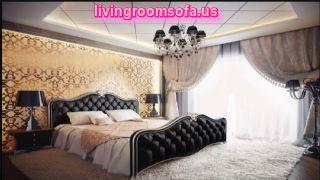 Black Gold Bedroom Design