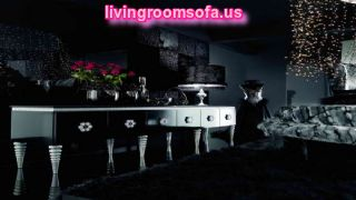Black Living Room Furniture Design And Decoration