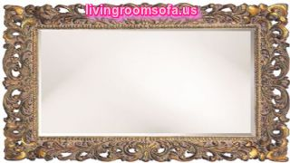 Carved Antique Wall Mirror Decorative