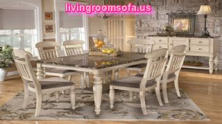 traditional white casual dining room furniture