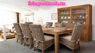 Casual Teak Dining Room Furniture