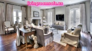 Classic And Contemporary Sofas And Chairs In Livingroom