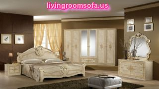 Classic And White Amalfi Beige Italian Bedroom Idea