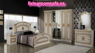 Collections Mcs Classic Bedrooms Italy Alexandra Ivory Brown And Gold