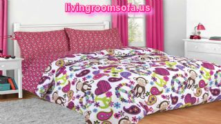 Colorful Bedroom Bed In A Bag Design