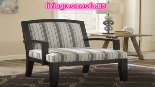 Contemporary Accent Wood Arm Chair