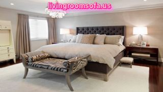 Contemporary Bedroom Bench Design Ideas