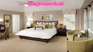 Contemporary Master Bedroom Decorating Ideas With Storage And Sofa Contemporary Bedroom Decorating Ideas