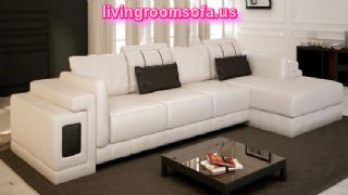 Contemporary Modern White Sectional Sofa Furniture Design Contemporary Modern White Sectional Sofa