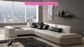 Contemporary Modern White Sectional Sofa Furniture Design Contemporary Modern White Sectional Sofa For Livingroom