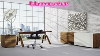 Contemporary Office Furniture Desks Wooden Products