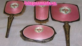 Cool Pink Antique Mirrors