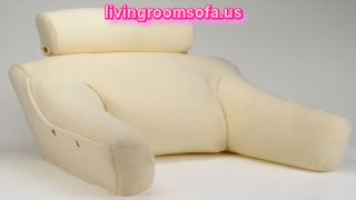 Cosmetic Pillow Lounger With Arms