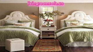 Cute And Cozy Pillow Cover With Cool Twin Bed Design Ideas