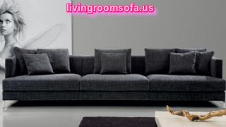 Dark Gray Sofa Design For Living Room Design Ideas