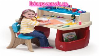 Deluxe Art Master Desk For Kids
