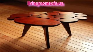 Different Style Caffe Table And Modern,brown Contemporary Coffee Tables