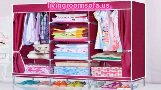 Different Style Pink Cheap Style Wardrobe Armoires Designs