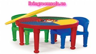 Different Style Play Table And  Cool Chairs For Kids Rooms