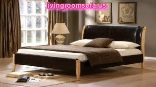 Double Leather Bed Frames Japanese Bedroom Design