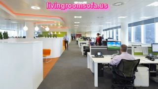 Excellent Business Office Interior Furniture Decorating