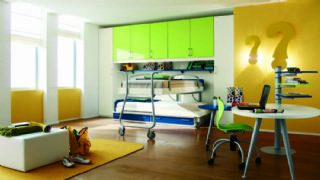 Exclusive Kids Room Design With Cool Lighting