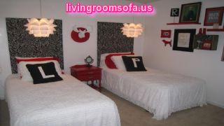 Exquisite Teen Bedroom Decor For Tween Featuring Lotus Pendant Lamp