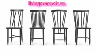 Family Chairs Black Design