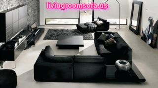 Fantastic Black Living Room Furniture Sets