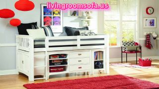 Fine Childrens Furniture With Red Carpet