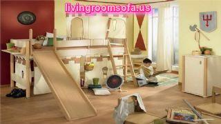 Fine Childrens Furniture With Wooden Chair