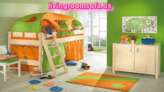 Funny Play Beds For Cool Kids Room