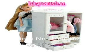 Girl Birthday Gift 1 Play Toy Furniture Baby And Wardrobe