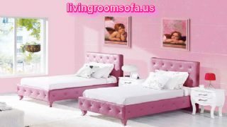 Girls Bedroom Colors Perfect With Two Bedding Ideas Wall Pink Color Ideas Side Table Ideas Very Nice For Twin Bedroom