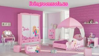 Girls Kids Bedroom Barbie Design