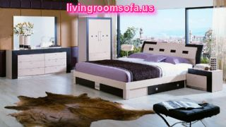 Impressive Furniture Bedroom Style Sets Purple With Stylish Decoration