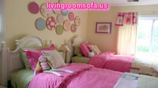 Kids Bedroom Relaxing Interior Design Inspiration Of Toddlers Bedroom In Gorgeous Pink
