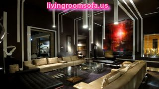Luxury Living Room Sofa Beige And Black Beautiful Blend Of Interior