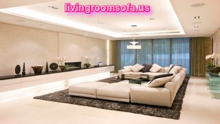 Luxury Living Room With The Best Furniture And Modern Lighting