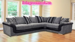 Lyon Fabric Corner Sofas