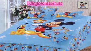 Mickey Dog Boy Cotton Bedroom Bed In A Bag
