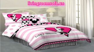 Minnie Mouse Hearts And Dots Reversible Bed In A Bag