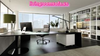 Modern And Black Contemporary Office Furniture