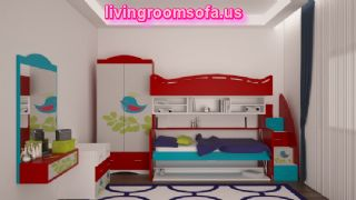 Modern And Comfortable Cool Bunk Beds With Storage,different Style Cool Bunk Beds For Kids Bedroom