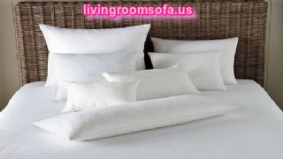 Modern Bed Pillows And Pillow Cases