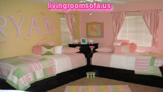 Modern Bedroom For Girls