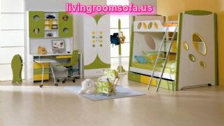 Modern Bedroom For Kids Room Two Story Bed
