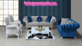 Modern Chesterfield  Sofa And Contemporary Fabric Sofas