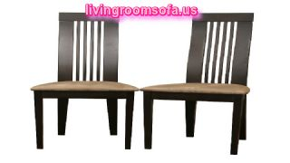 Modern Dark Brown Dining Chairs